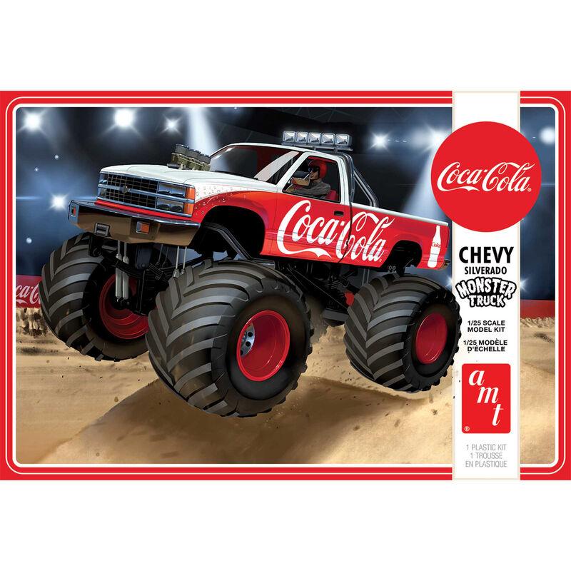 1/25 1988 Chevy Silverado Monster Truck, Coca-Cola