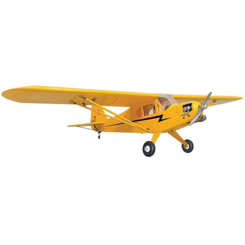 "Piper J3 Cub .46-.55 GP EP ARF 84.6"""