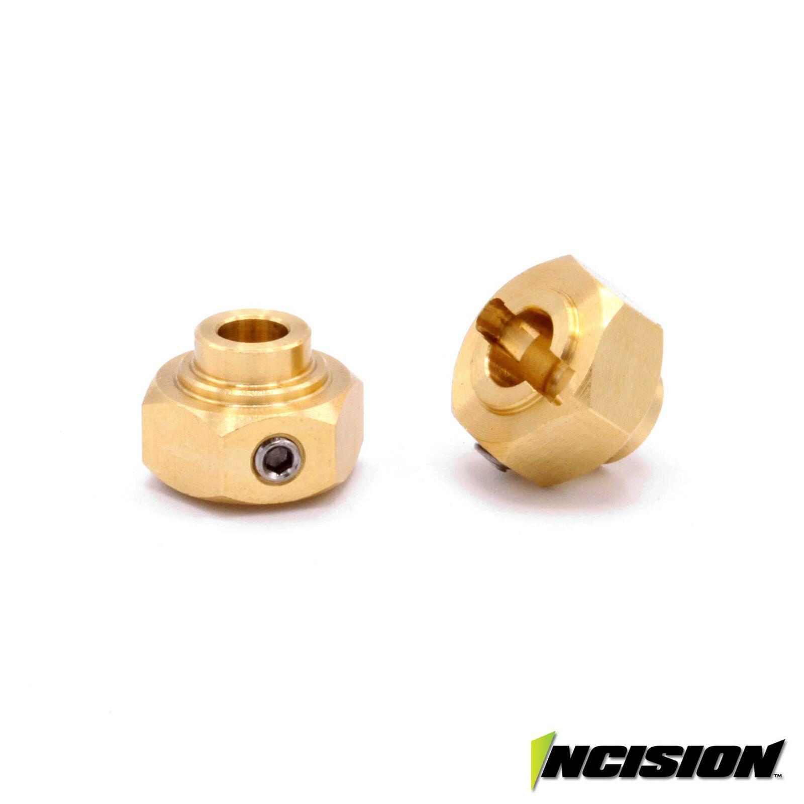 Brass 12mm Hex