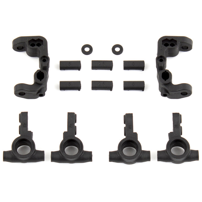 Caster and Steering Blocks: B6.1