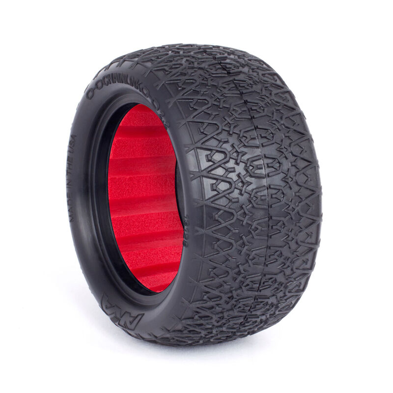 1/10 Chain Link EVO 2.2 Rear Tire with Red Insert: Buggy (2)