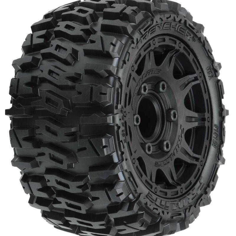 "Trencher LP 2.8"" Mounted Raid Black 6 x 30 Tires, F/R (2)"