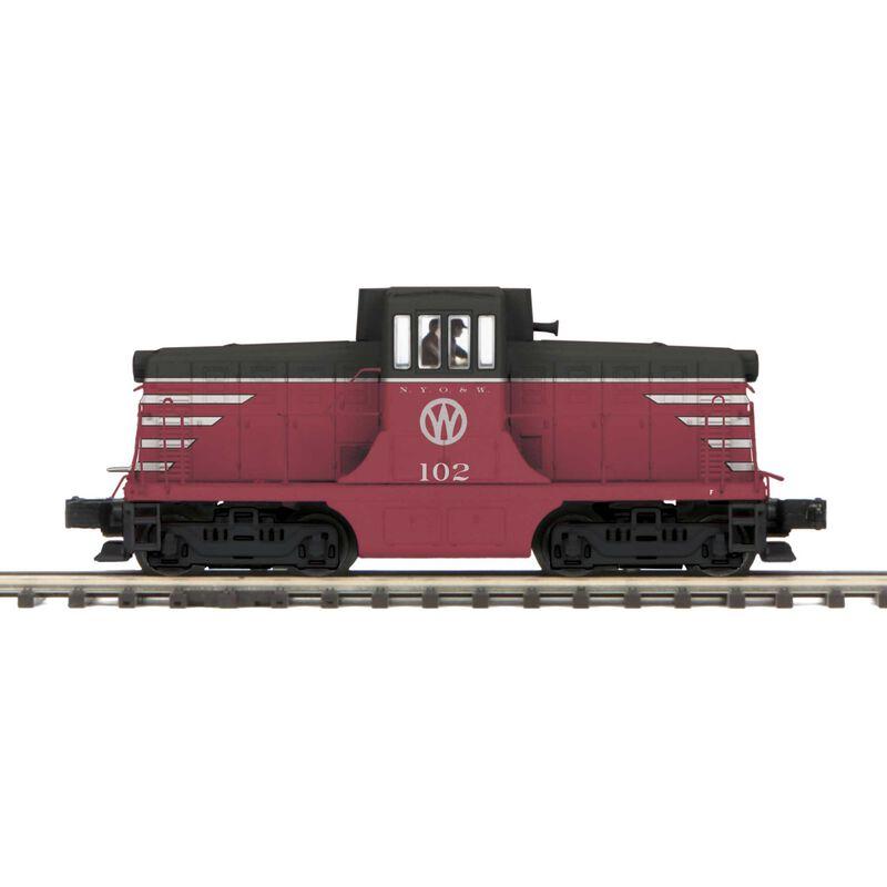 O Hi-Rail 44 Ton Phase 3 w PS3 NYO&W #102