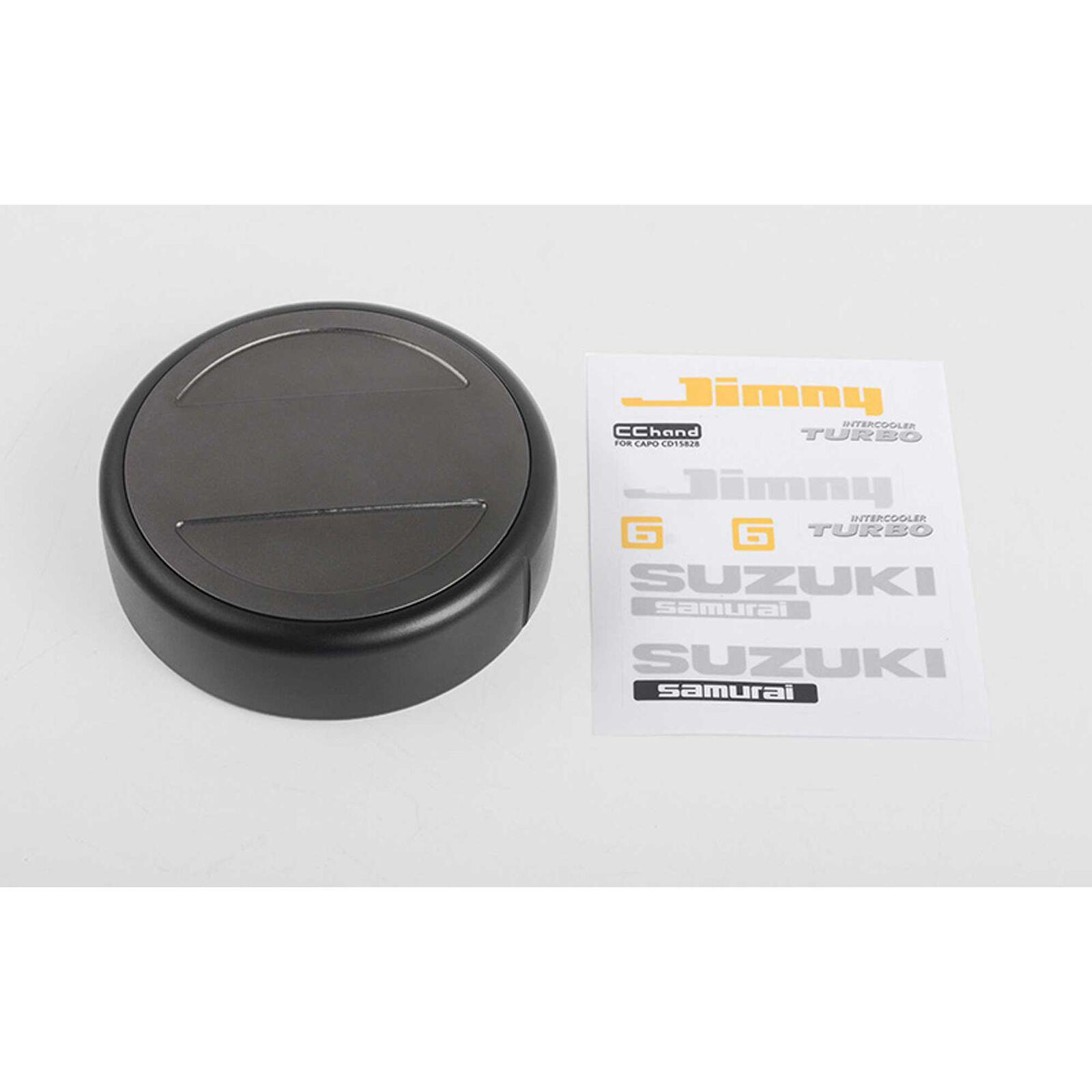 No-Fuss Spare Tire Cover: CRS 1/6 Crawler