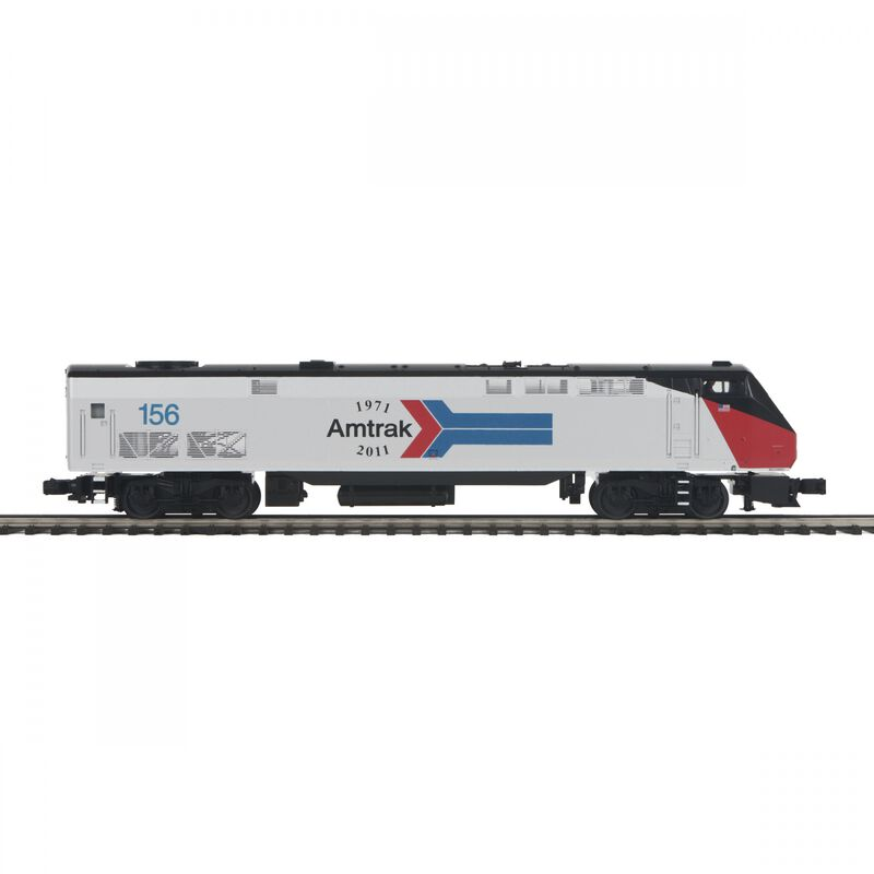O-27 P42 Genesis with PS3 Amtrak #156