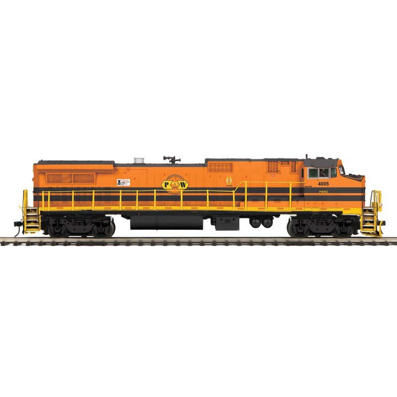 O Hi-Rail Dash 8-40BW w PS3 P&W #4005