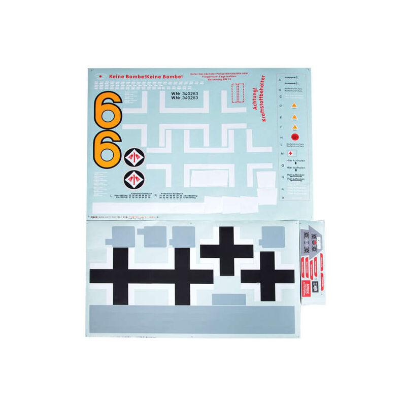 Decal Sheet:  FW190 Y-6 1400mm
