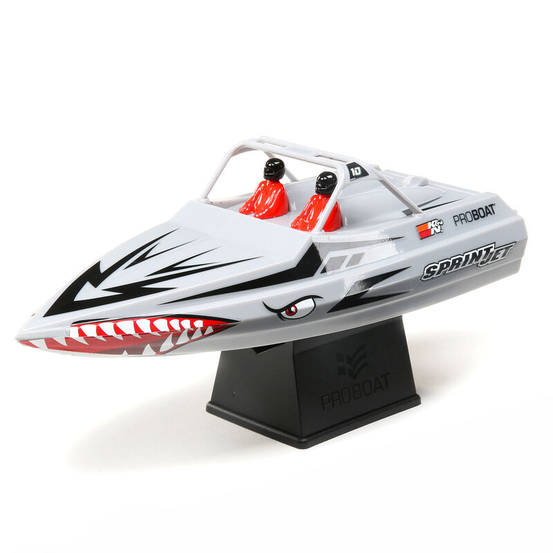 Sprintjet 9-inch Self-Righting Jet boat RTR