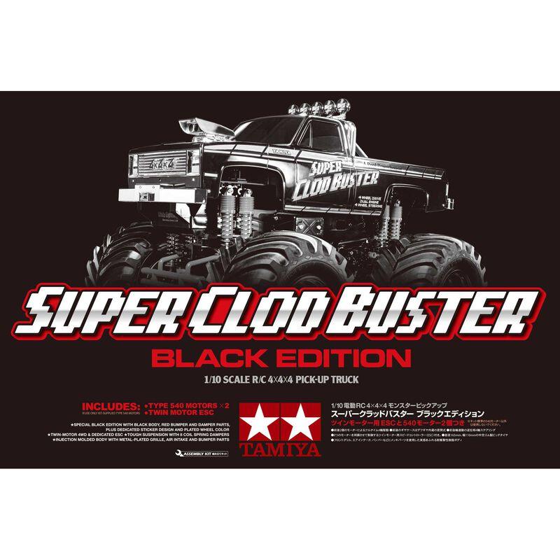 1/10 Super Clod Buster 4WD Kit Limited Edition, Black