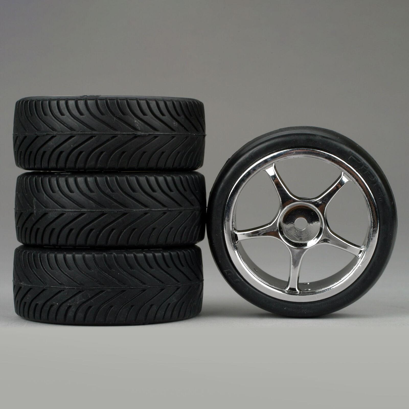 5-Spoke Chrome Wheel, Radial (4)