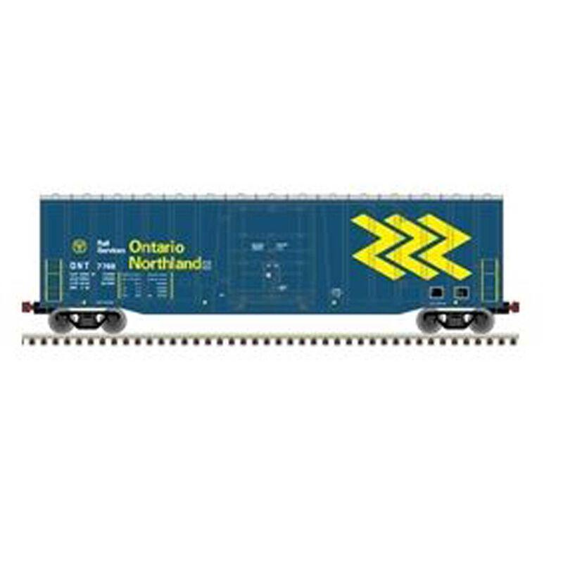 N NSC 50' Plug Door Boxcar Ontario Northland #7701