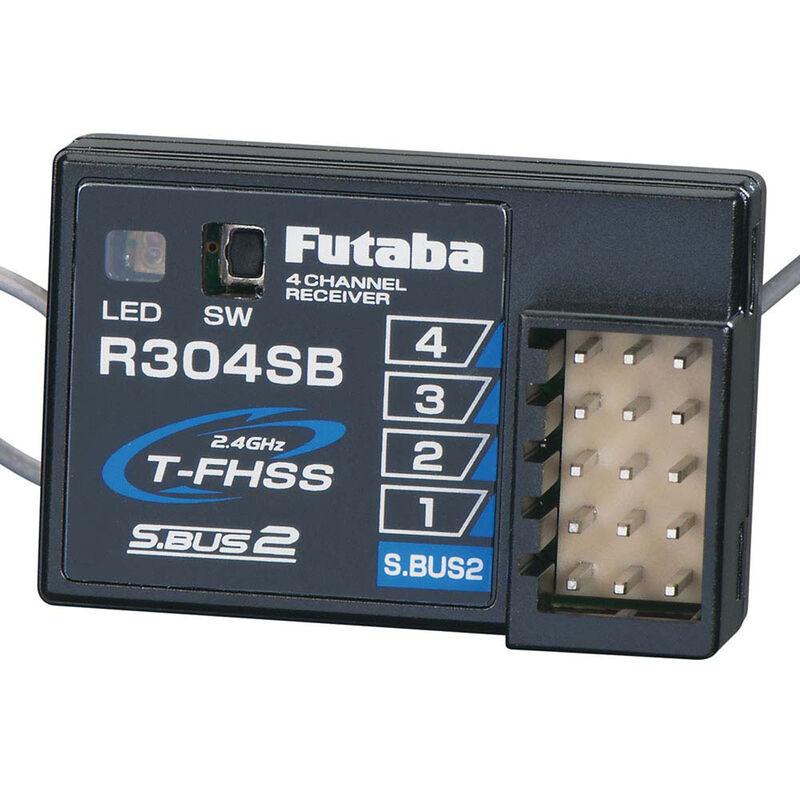R304SB S.Bus2 4-Channel T-FHSS Telemetry Rx