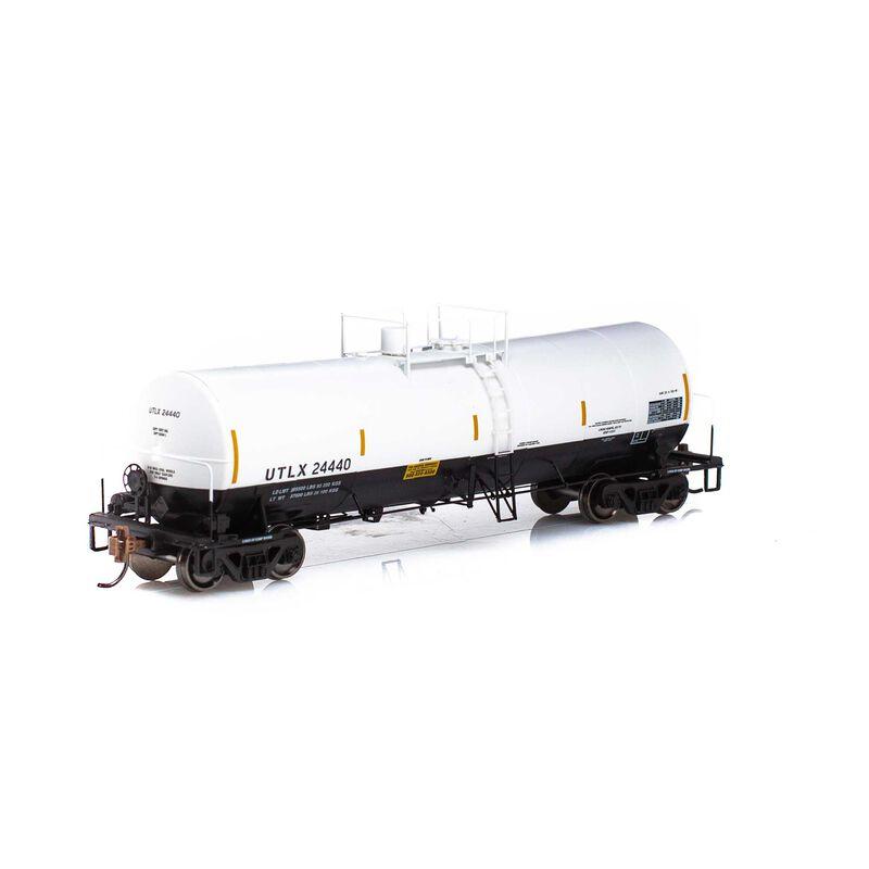 HO RTR 16,000-Gallon Tank UTLX White & Black#24440