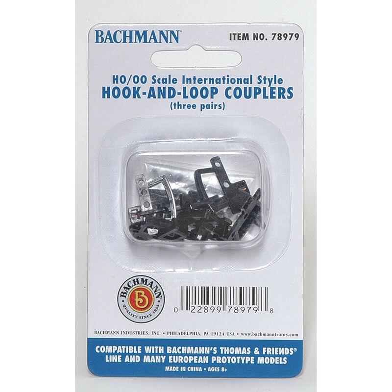 HO Thomas Hook & Loop Coupler (3pr)