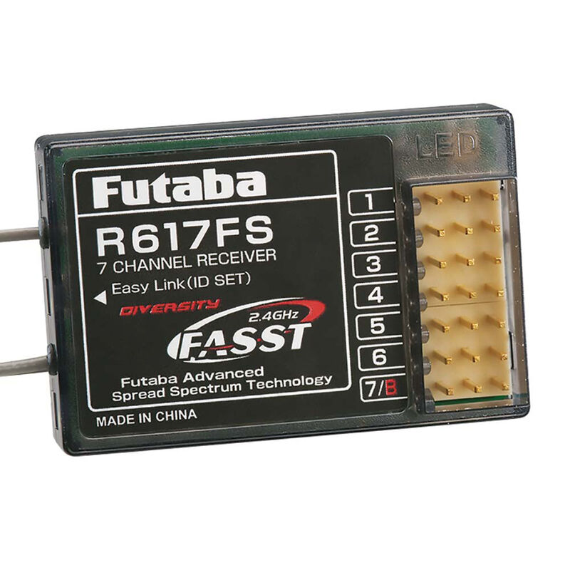 R617FS 7-Channel FASST Receiver