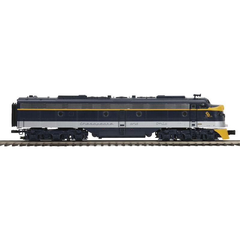 O Hi-Rail E8A w PS3 C&O #4020