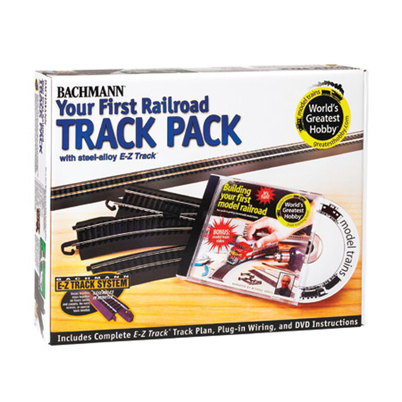 HO Steel EZ Your First Railroad Track Pack