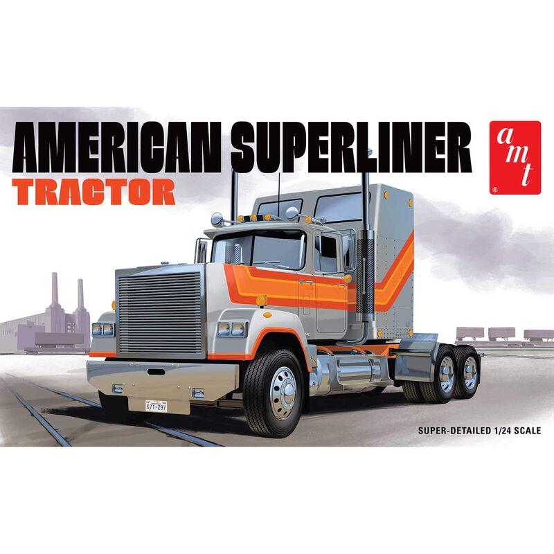 American Superliner Semi Tractor