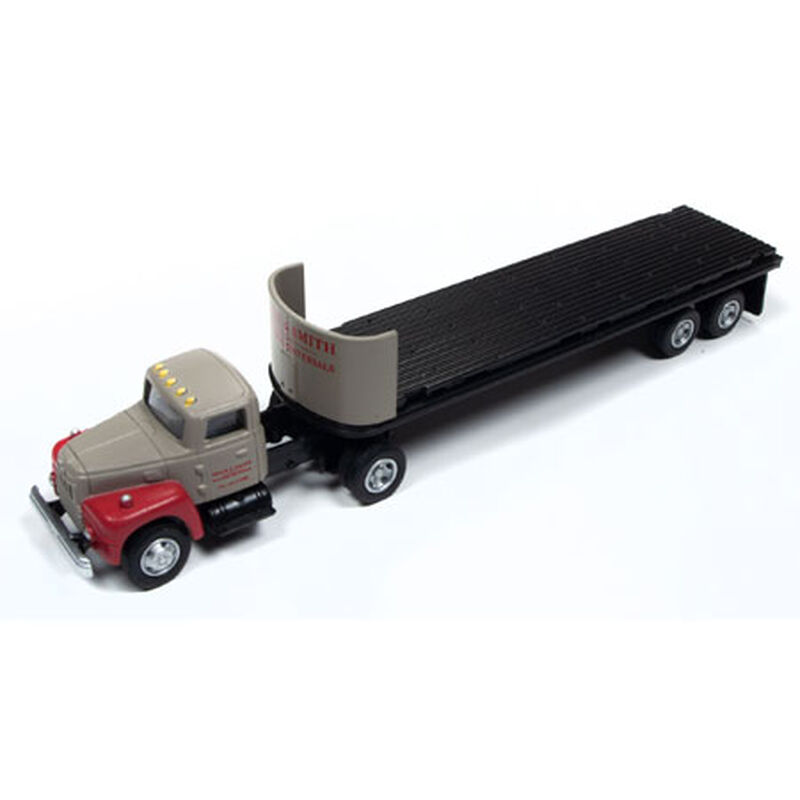 HO IH R-190 Tractor Trailer Set Bulding Materials