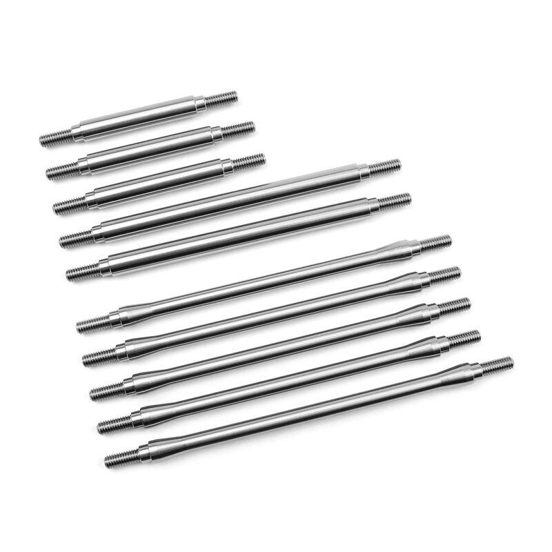 Stainless Steel Link Kit (10) 12.3 Wheelbase: TRX-4