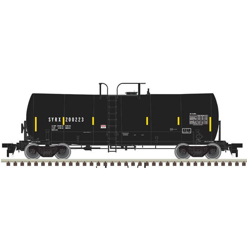 HO 17 000-Gallon Tank Car SYRX #200177