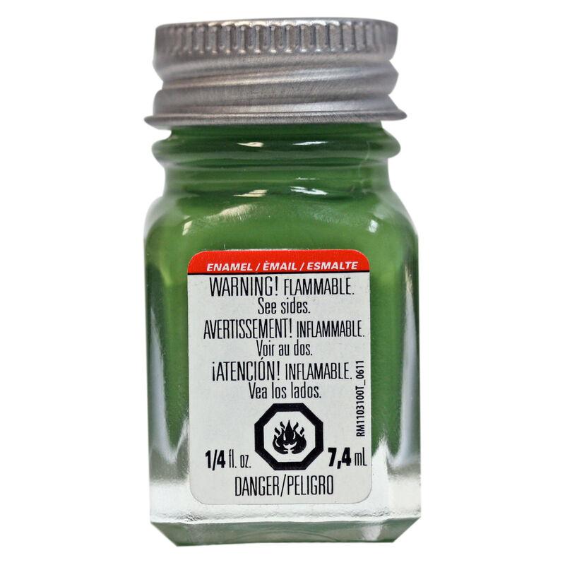 Enamel 1/4 oz Flat Green