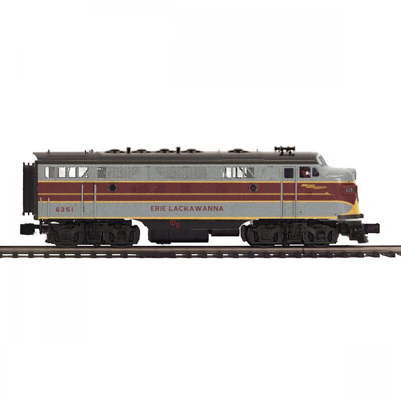 O-27 F7 A with PS3 Hi-Rail EL #6351
