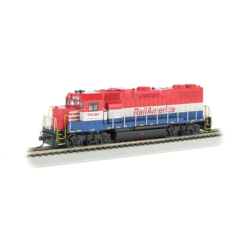 HO GP38-2 Railamerica