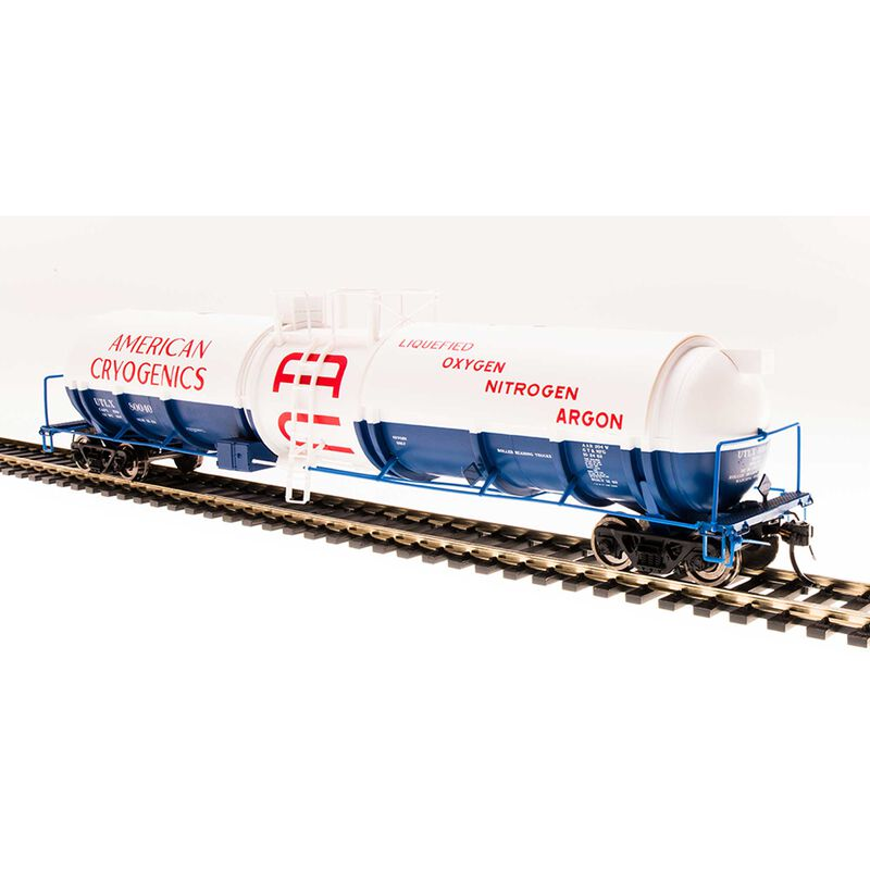 Cryogenic Tank Car, American Cryogenics,2-pack ,HO
