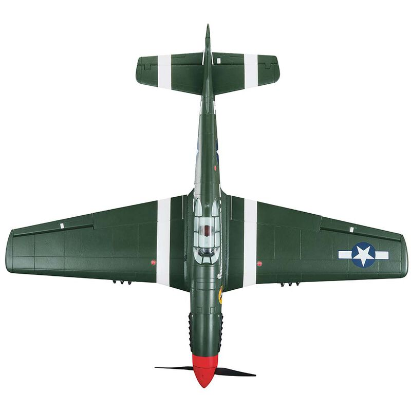 "P-51 Mustang Shangri-La EP Rx-R 40"""