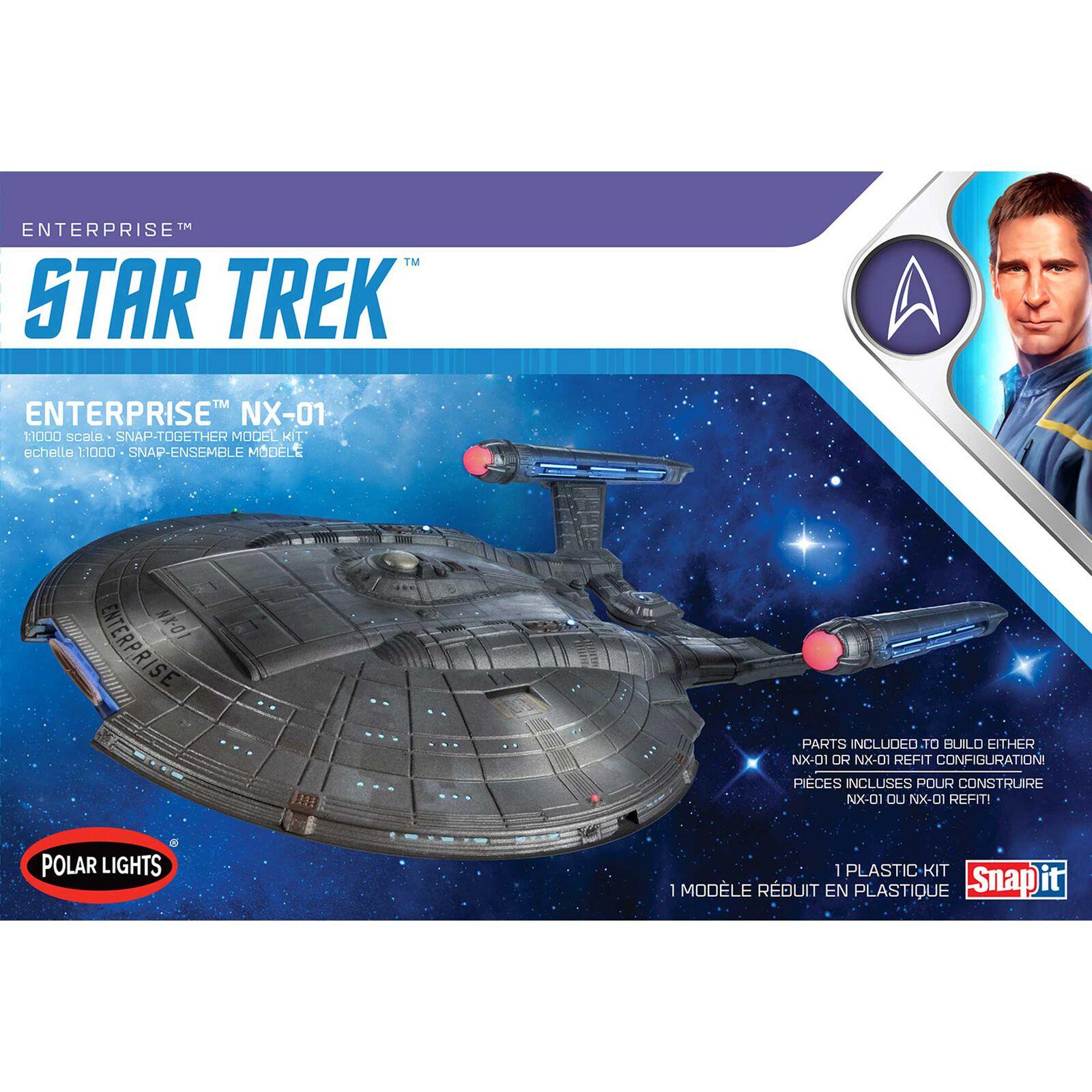 1/1000 Star Trek NX-01 Enterprise 2T Snap