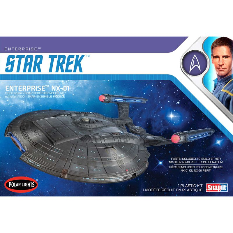 1/1000 Star Trek NX-01 Enterprise 2T Snap
