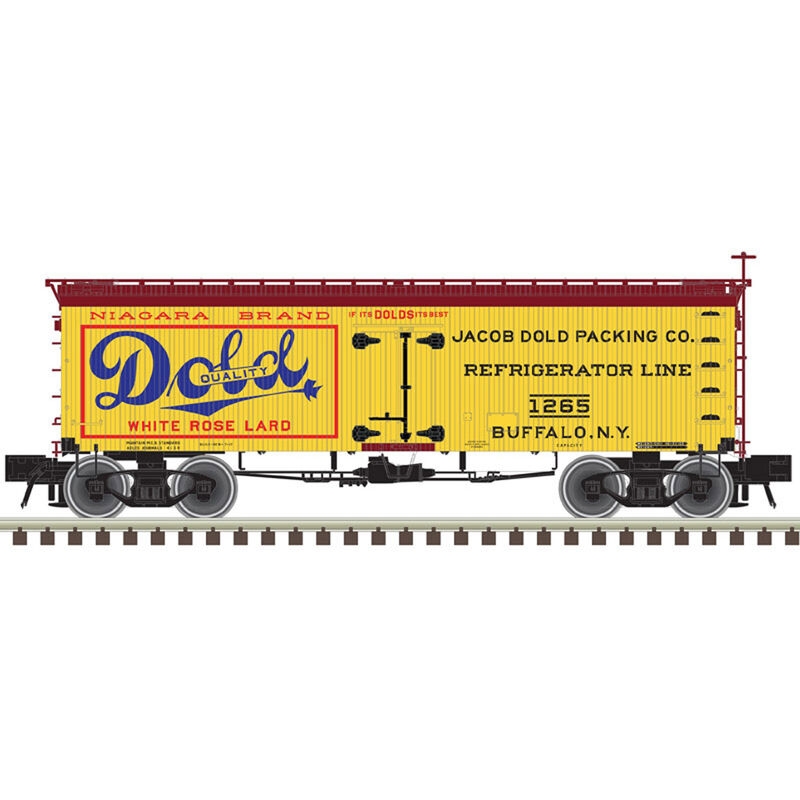 O 36' Wood Reefer Dold Packing Company