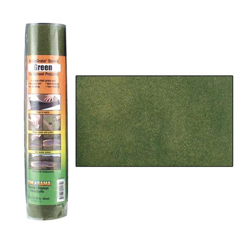 Scene-A-Rama Green Grass Ready Sheet, 10.75x16.25