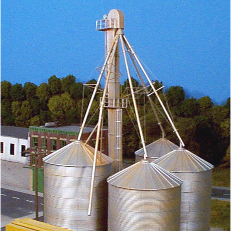 HO KIT 90' Grain Elevator