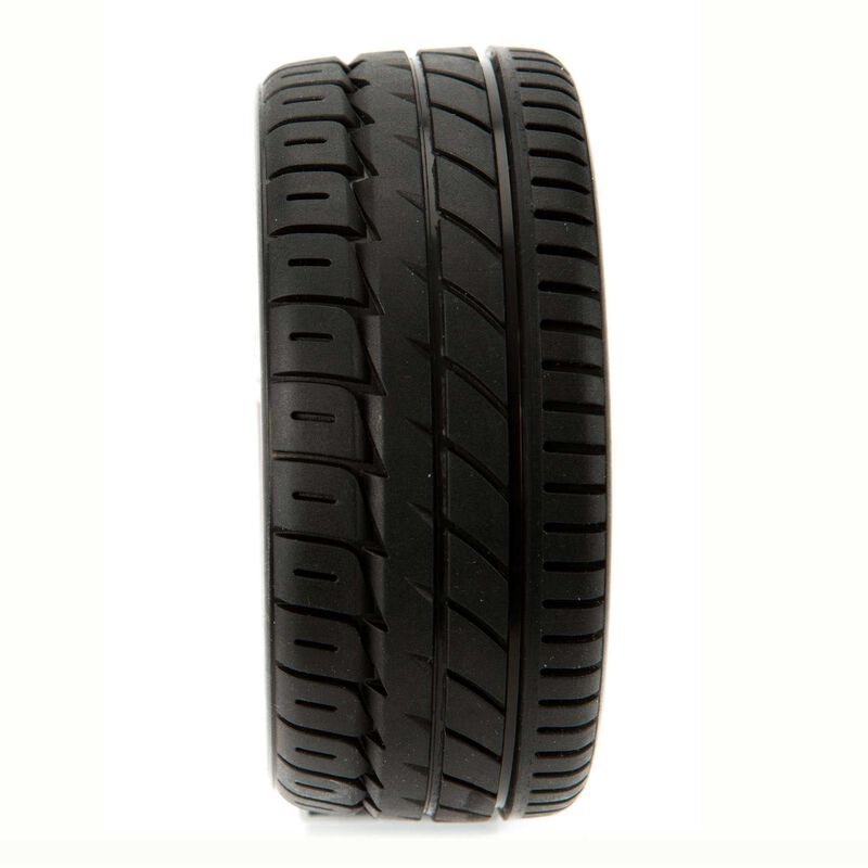 SpeedTreads Upshot SC Tire Mounted (2): Traxxas Slash/Rustler 4X4 Front Rear ECX