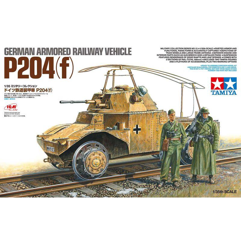 1/35 German Armored Railway Vehicle P204