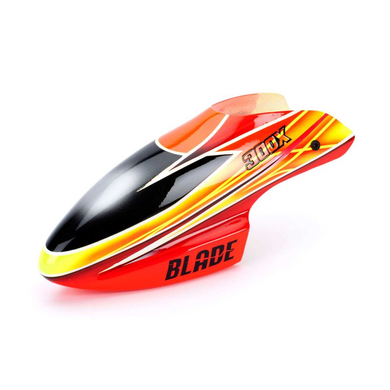 Fiberglass Canopy, Orange/Yellow: Blade 300 X