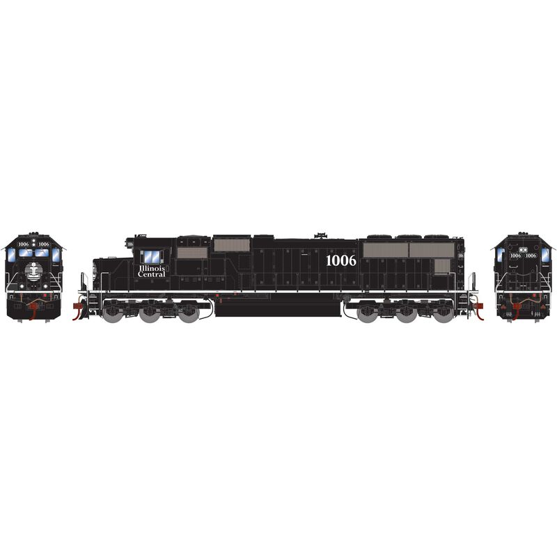 HO SD70 with DCC & Sound, IC #1006