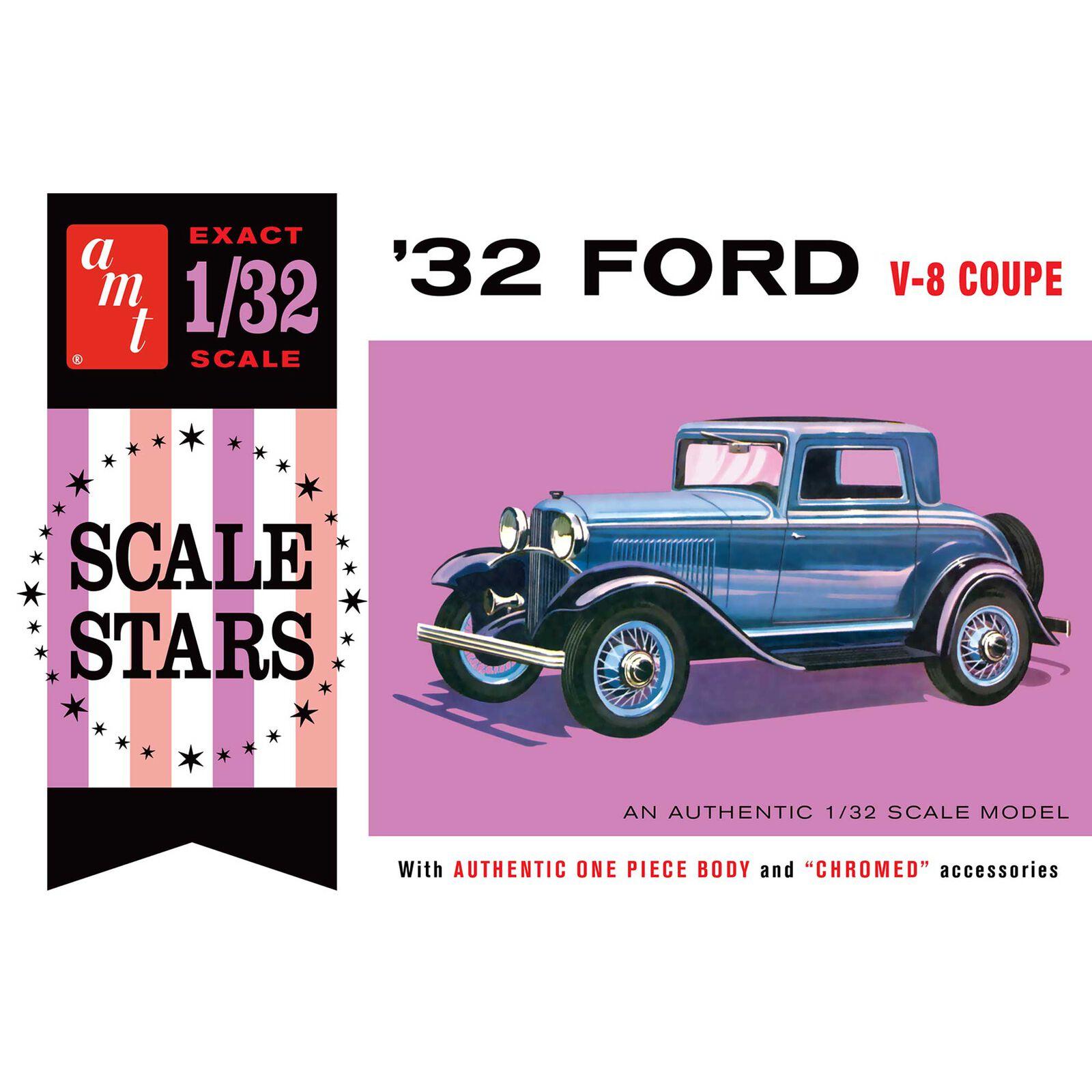 1/32 1932 Ford Scale Stars, Model Kit