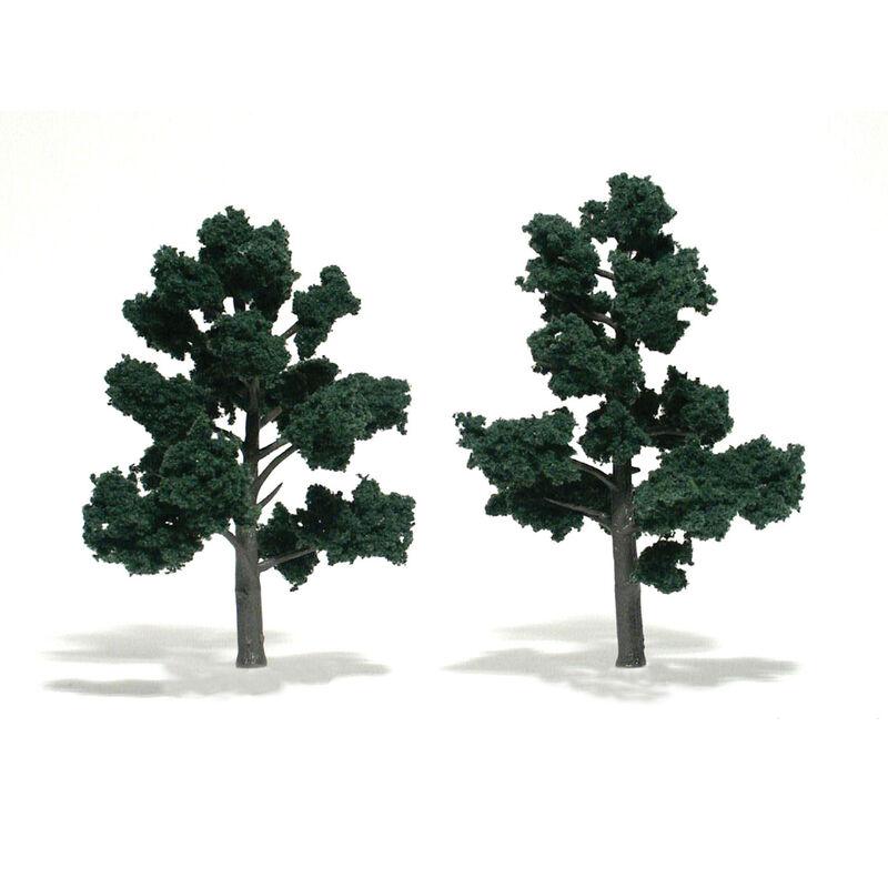 """Ready-Made Tree, Dark Green 4-5"""" (2)"""