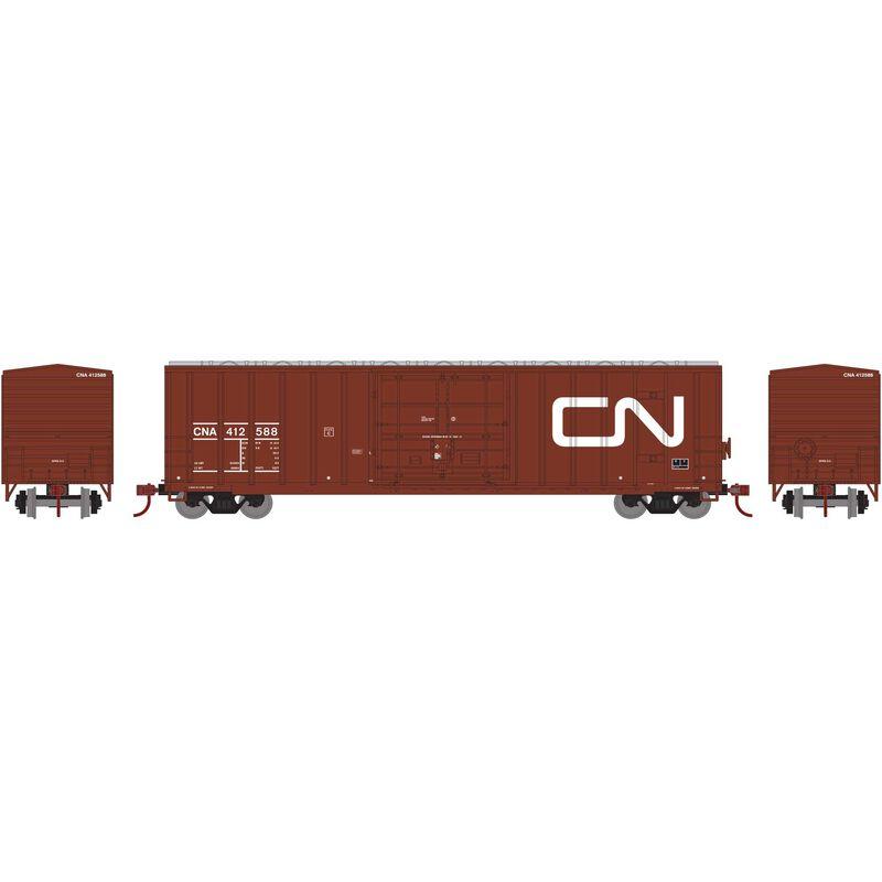 N 50' FMC Superior Plug Door Box CNA #412588