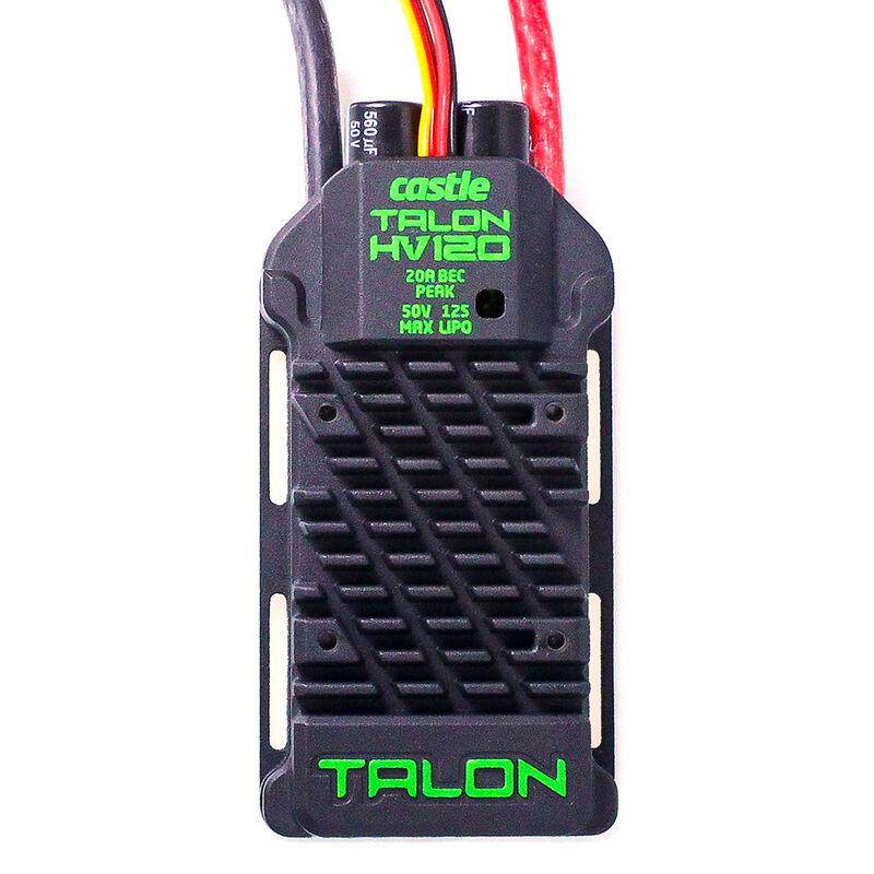 Talon 120HV ESC 120AMP,  12S Max Heavy Duty BEC