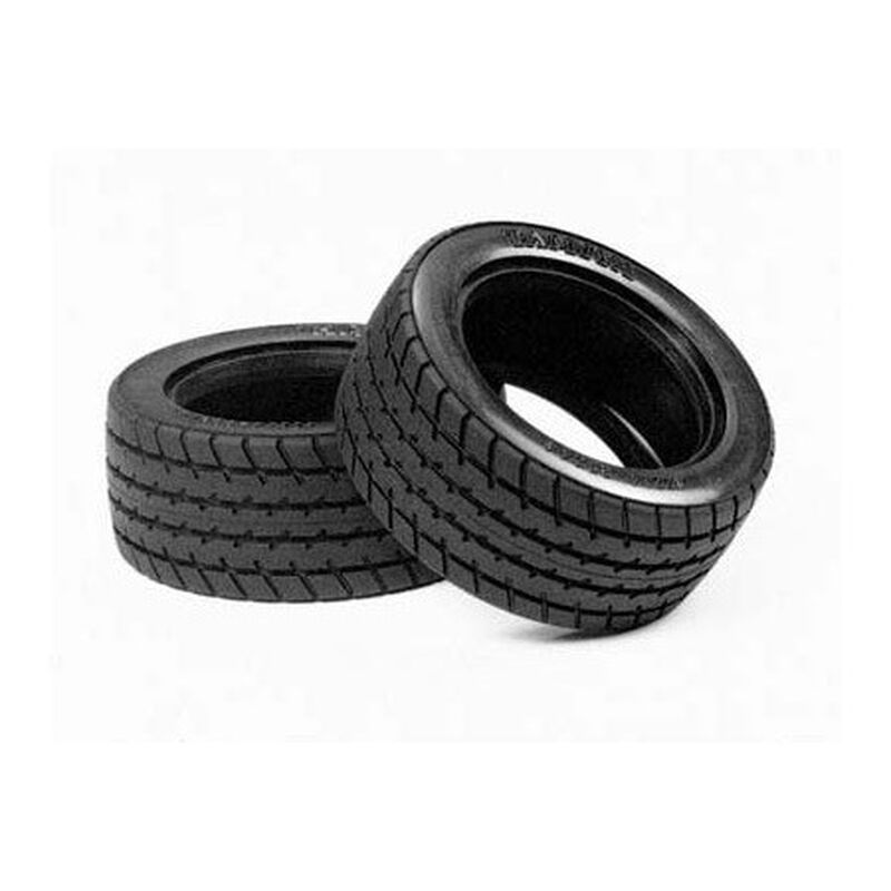 1/10 M-Chassis 60D Radial Front/Rear Tires (2)