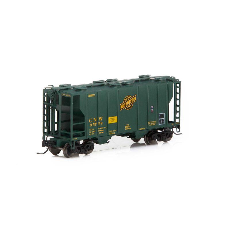 N PS-2 2600 Covered Hopper C&NW #95778