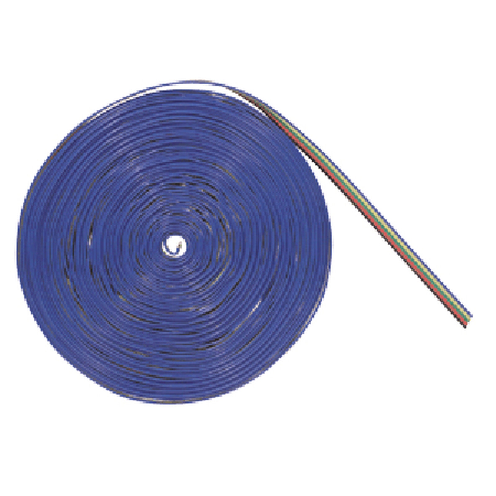 50' Ribbon Wire, 5 Conductor