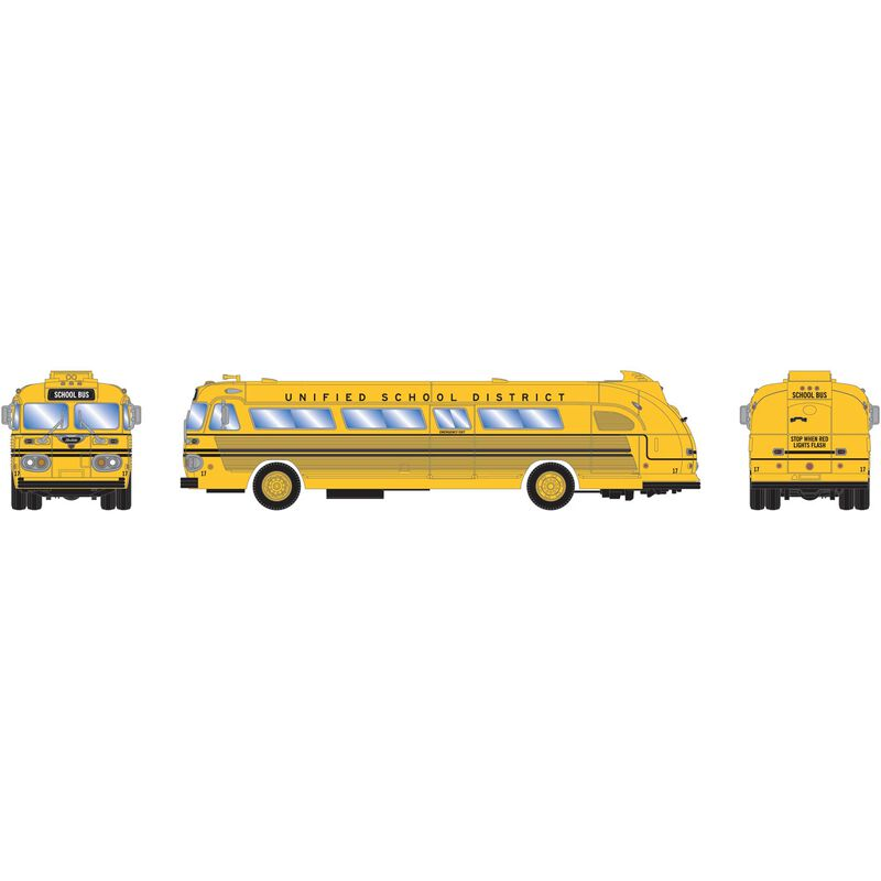 HO RTR Intercity Bus Unified School District #17