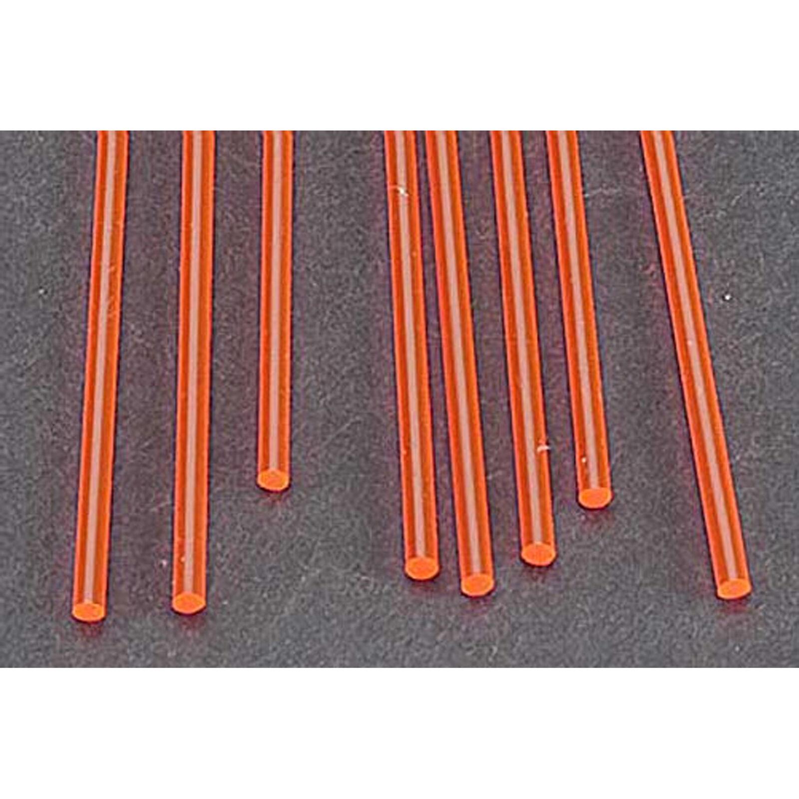 "FARR-3H Fluor Red Rod,3/32"" (8)"