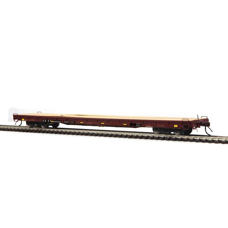 HO 60' Wood Deck Flat CSX #603547