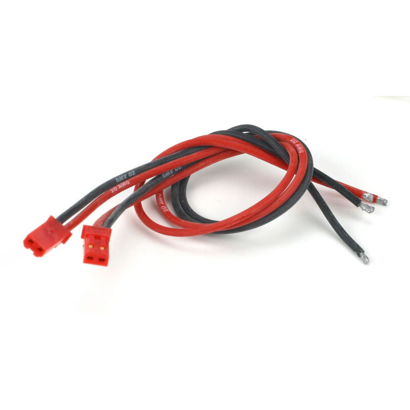 Connector with Lead: JST Male (2)
